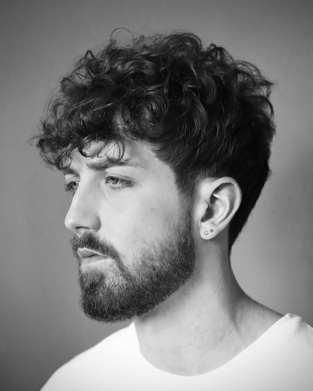 Beard Styles For Men With Curly Hair Wavy Hair Men Mens Hairstyles Thick Hair Curly Hair Men