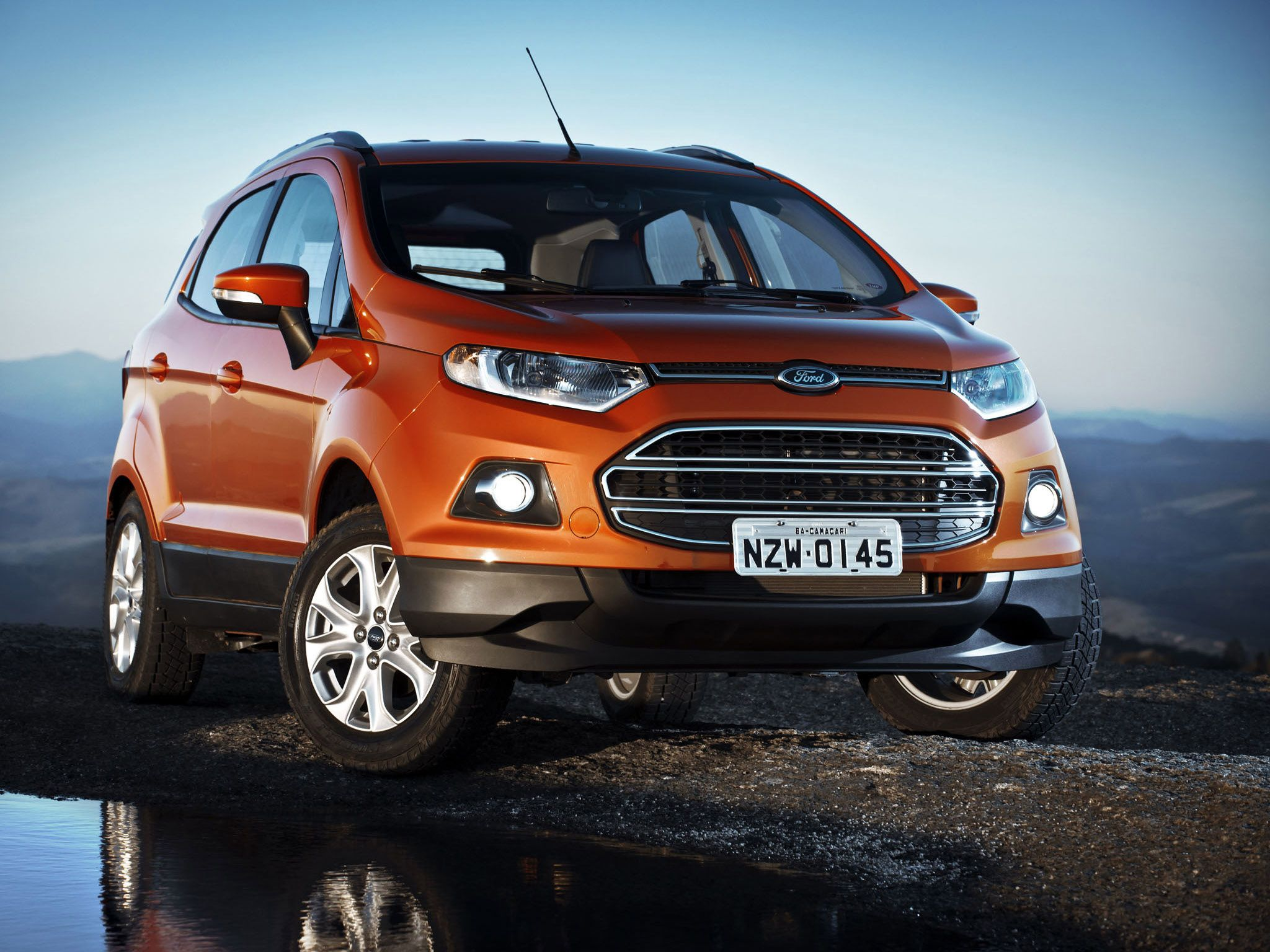 2014 Ford Ecosport Suv Front Hd Wallpaper 8 Ford Ecosport
