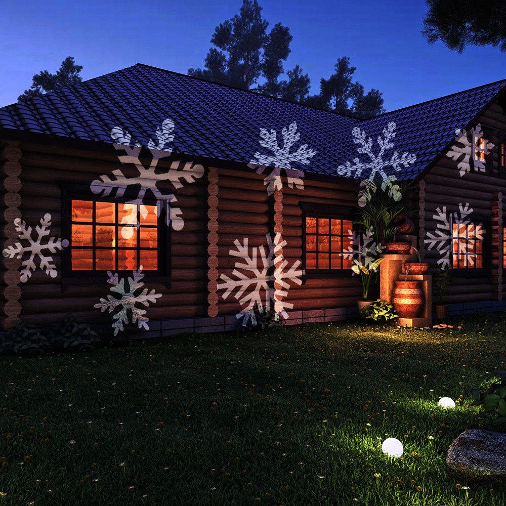 12 Film Replaceable Led Projector Laser Stage Light Elf Projection Lawn Light Outdoor Indoor Rem Christmas Projector Christmas Lights Outdoor Christmas Lights