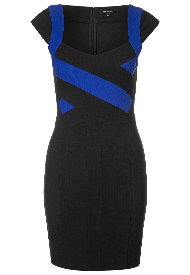 Morgan - Sukienka etui - czarny