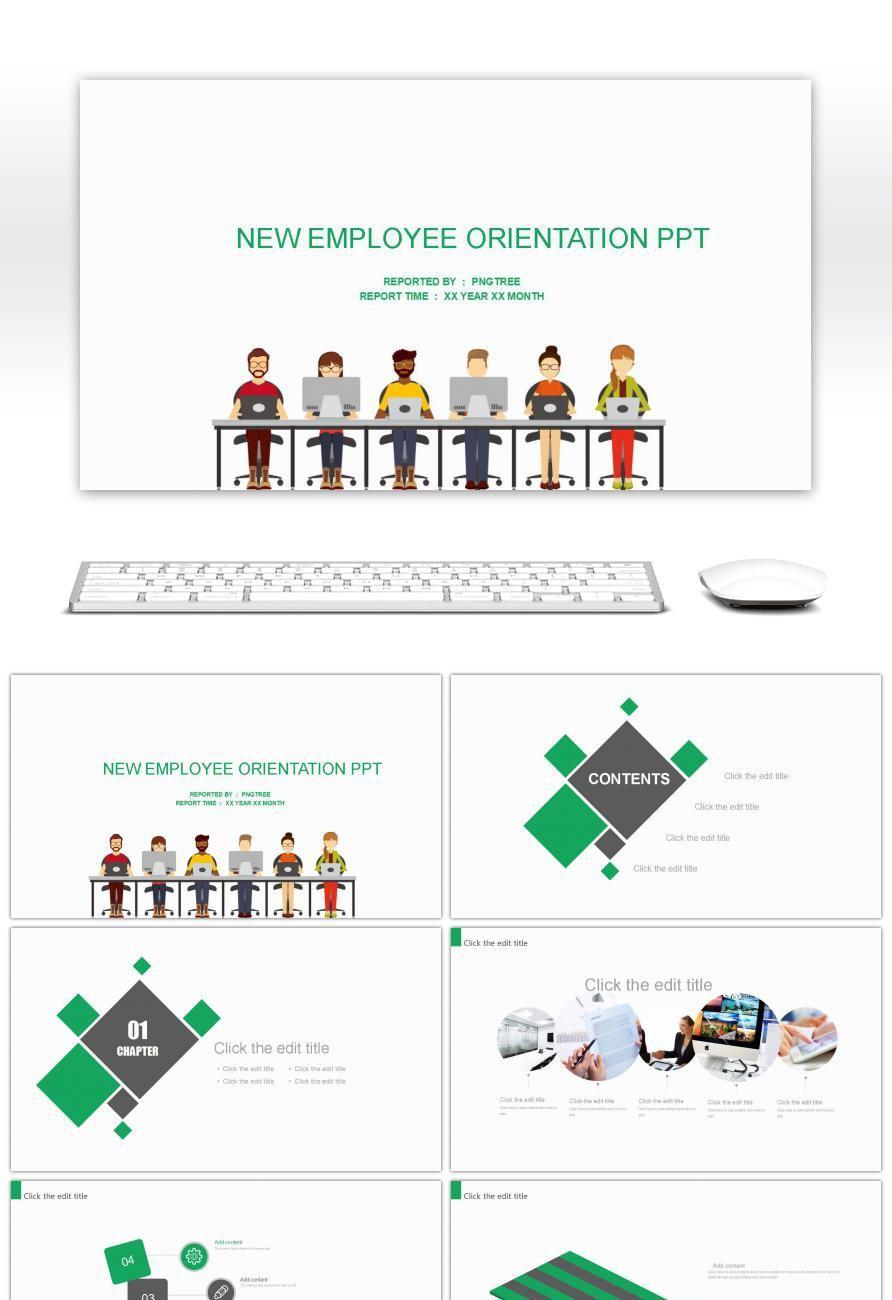 new employee training ppt ppt pinterest new employee ppt