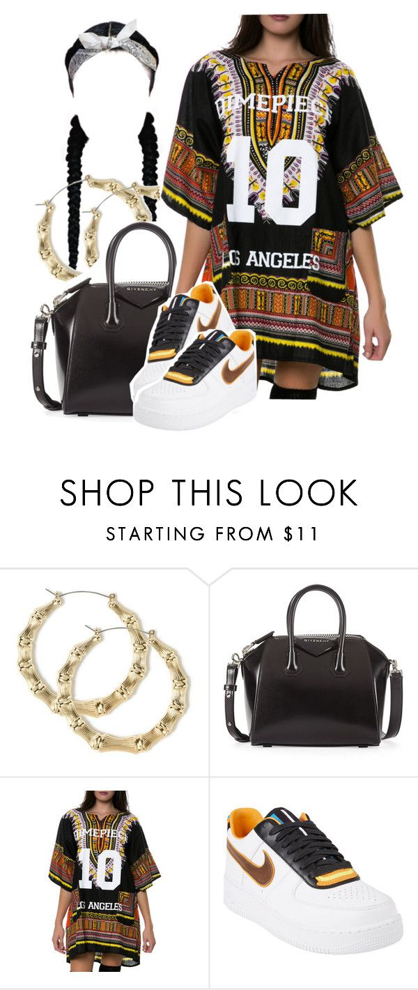 """""""Type of way"""" by kiaratee ❤ liked on Polyvore featuring Givenchy, Dimepiece and NIKE"""