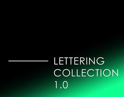 """Check out new work on my @Behance portfolio: """"LETTERING COLLECTION 1.0"""" http://be.net/gallery/52014395/LETTERING-COLLECTION-10"""