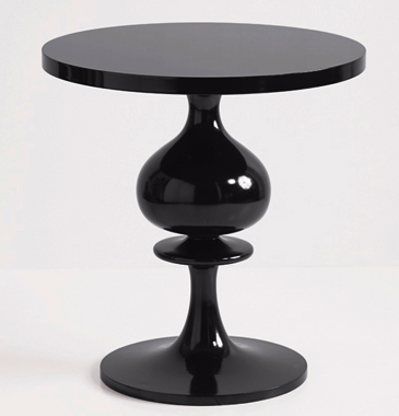 Brocade Home black accent table Pinterest Black accent