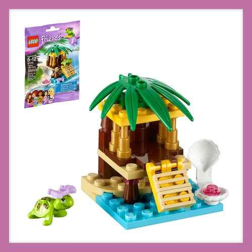 New Lego Friends Turtles Little Oasis Set 41019 New Sealed