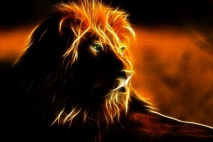 Download Fire Lion Wallpapers 1920x1080 Screen Amazing Pictures