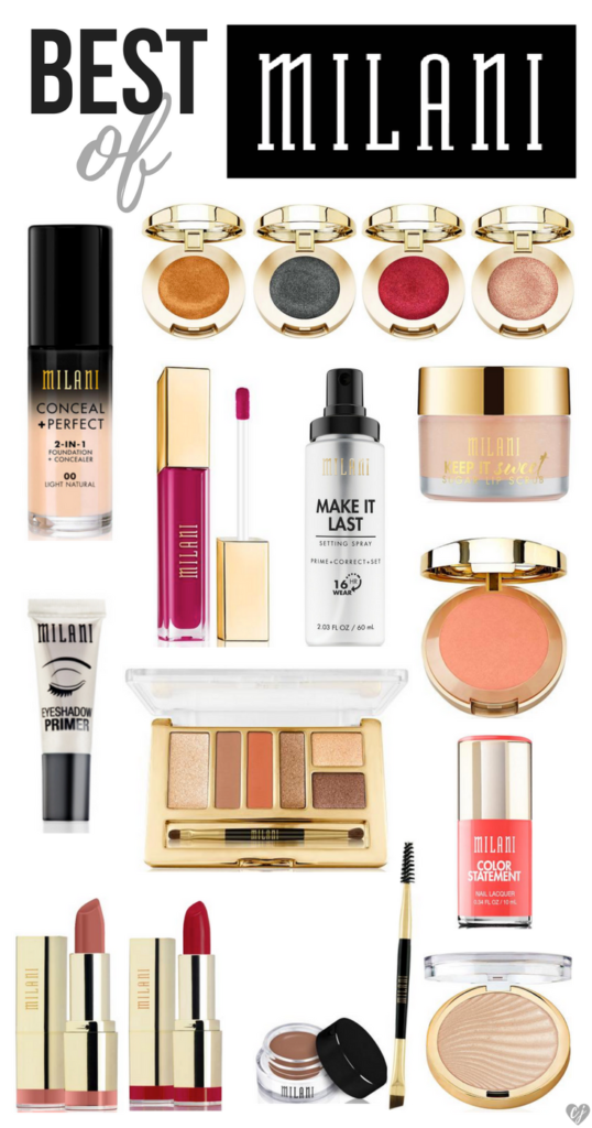 The Best Milani Makeup Products 2017 Milani cosmetics