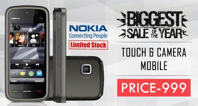 Touch Nokia 5233 Mobile @ 999   whaaky   technowgadjets