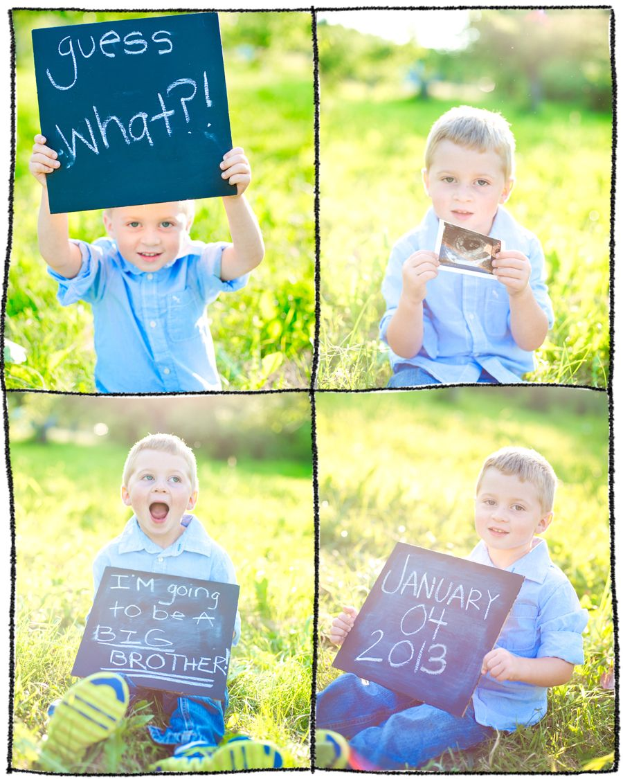 17 Best images about Pregnancy Announcements – Photo Booth Baby Announcement