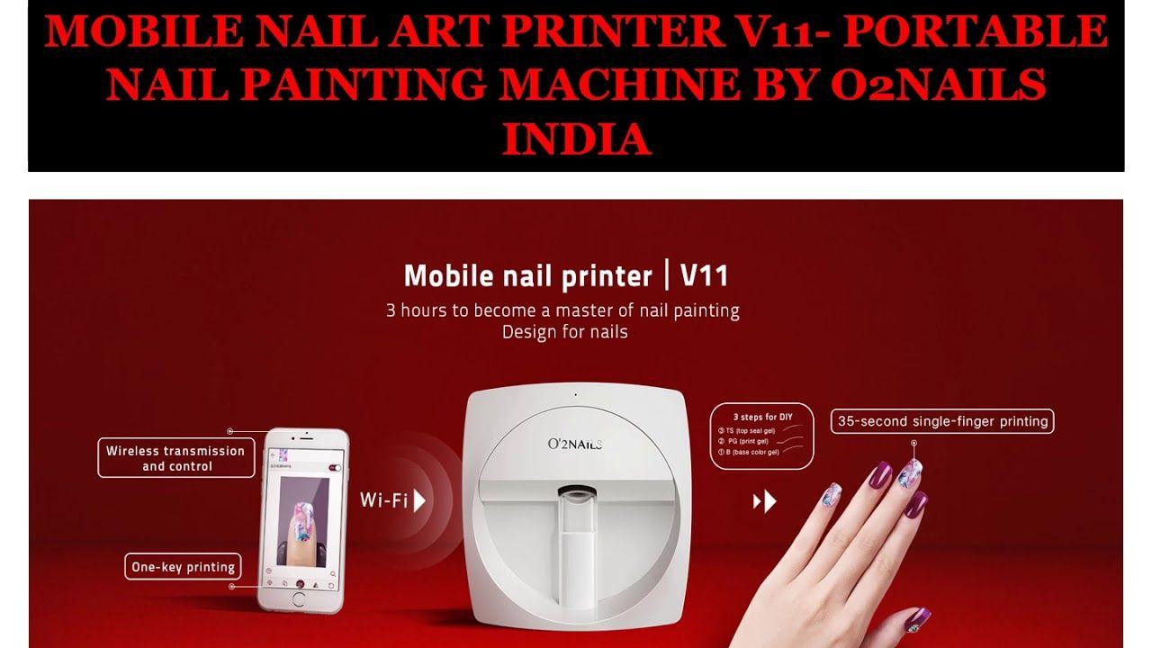 Magnificent Nail Painting Machine Pattern - Nail Art Ideas ...