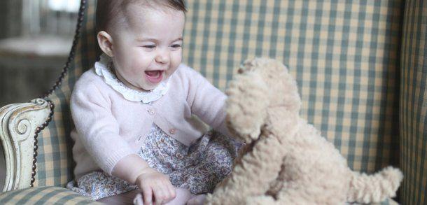 Prinzessin Charlotte: Ist die niedlich!