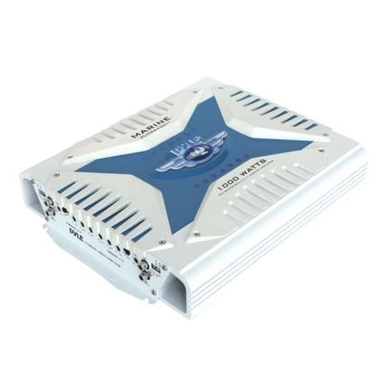 Elite Series Waterproof Bluetooth Amplifier, Bridgeable 1000 Watt 4-Channel Amp