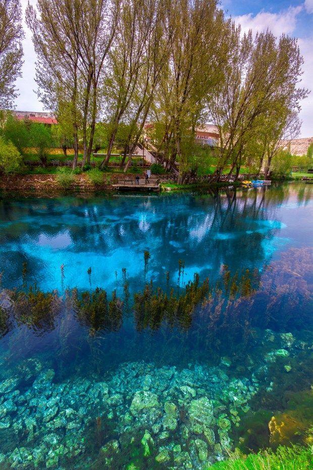 Anadolunun saklı cenneti Gökpınar Gölü