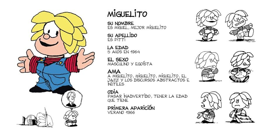 Pin de Dgv en Gran Quino Mafalda, Miguelito mafalda y