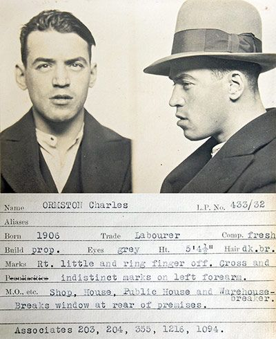 Rogues Gallery 1930s Mugshots From A Police Identification Book