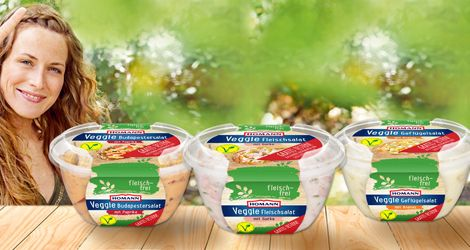 Homann veggie salate gratis testen