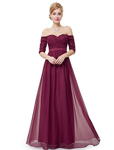 Ever Pretty Juniors Elegant Long Formal Off Shoulder Prom Gown 10 US Red Ever-Pretty http://www.amazon.com/dp/B00RKLYBWA/ref=cm_sw_r_pi_dp_EVhAvb1TCHNBD