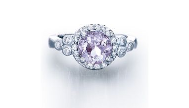 - 14k Rose Amethyst 1.78cts and Diamond .36cts Ring <br />$1,300(SPRNG14524)
