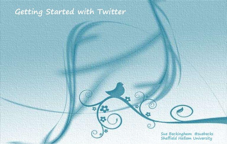 Introducing to micro-blogging platform Twitter