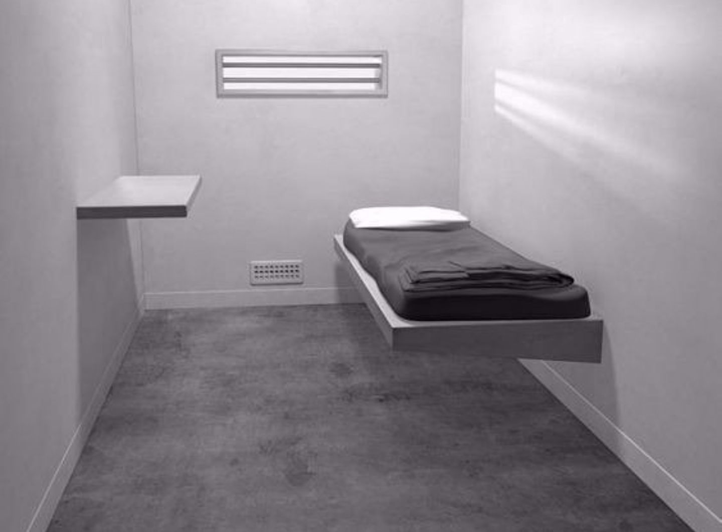 Modern Solitary Confinement Cell Solitary Confinement Prison Jail