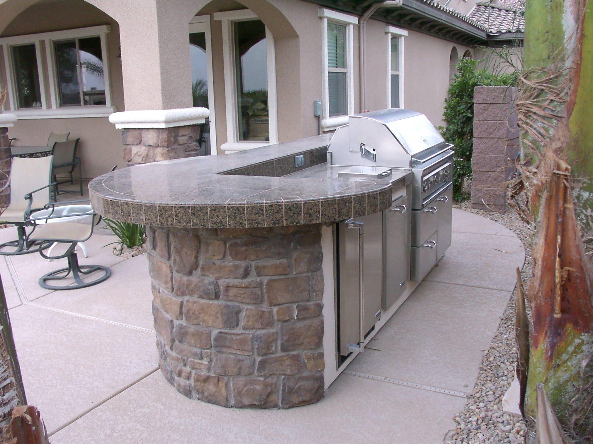 Custom Outdoor Kitchen Design By Nevada Outdoor Living Outdoor Kitchen Outdoor Kitchen Design Outdoor