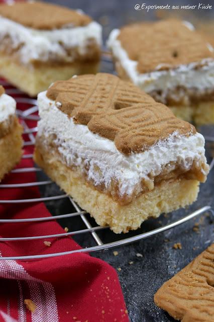SpekulatiusApfelkuchen vom Blech  Kuchen  Backen  Rezept  Weihnachten  Weihnachtsbäckerei