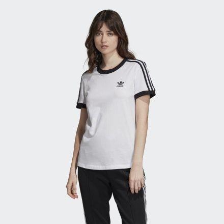 Photo of adidas 3-Streifen T-Shirt – Weiß   adidas US