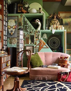Photo of Barnaba Fornasetti's Hallucinatory House Has His Father's Sp…