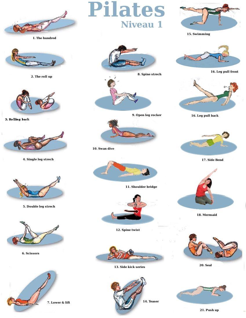 programme pilates pour maigrir pdf