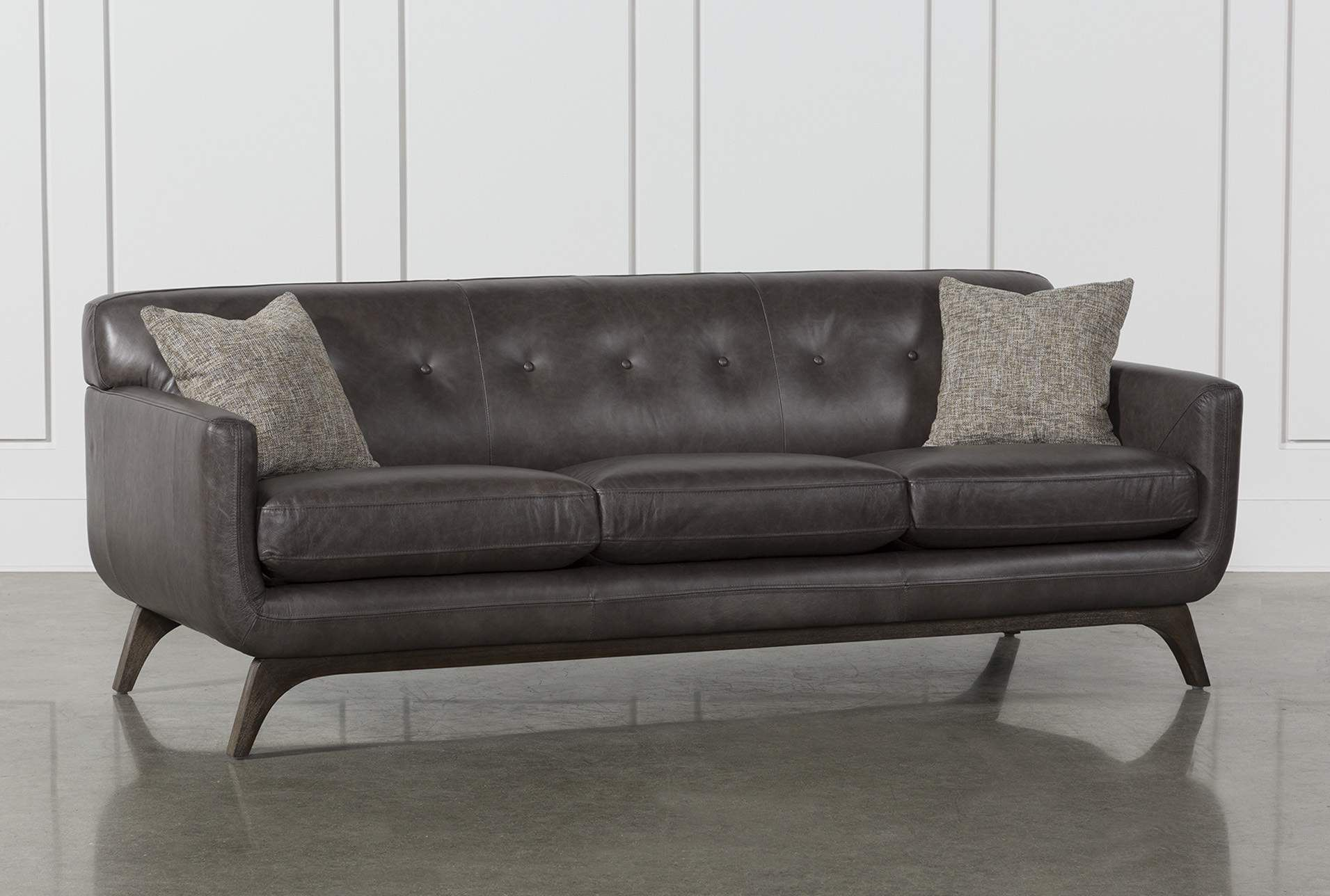 Gray Leather Sofa A Timeless Choice For Your Modern Living Room Grey Leather Sofa Leather Sofa Grey Leather Couch