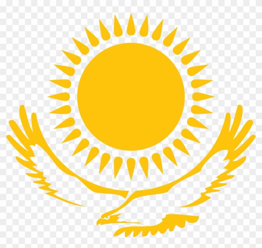 Download And Share Clipart About Sun Png 8 Flag Republic Of Kazakhstan Find More High Quality Free Transparent Png Clipa Kazakhstan Flag Sun Tattoo Tribal