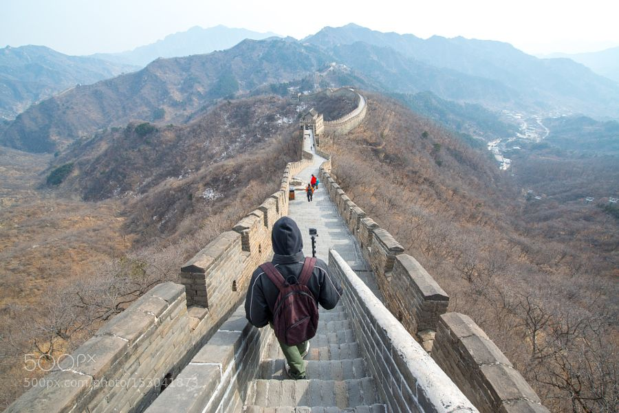 Popular on 500px : Mutianyu Great Wall by petrajz