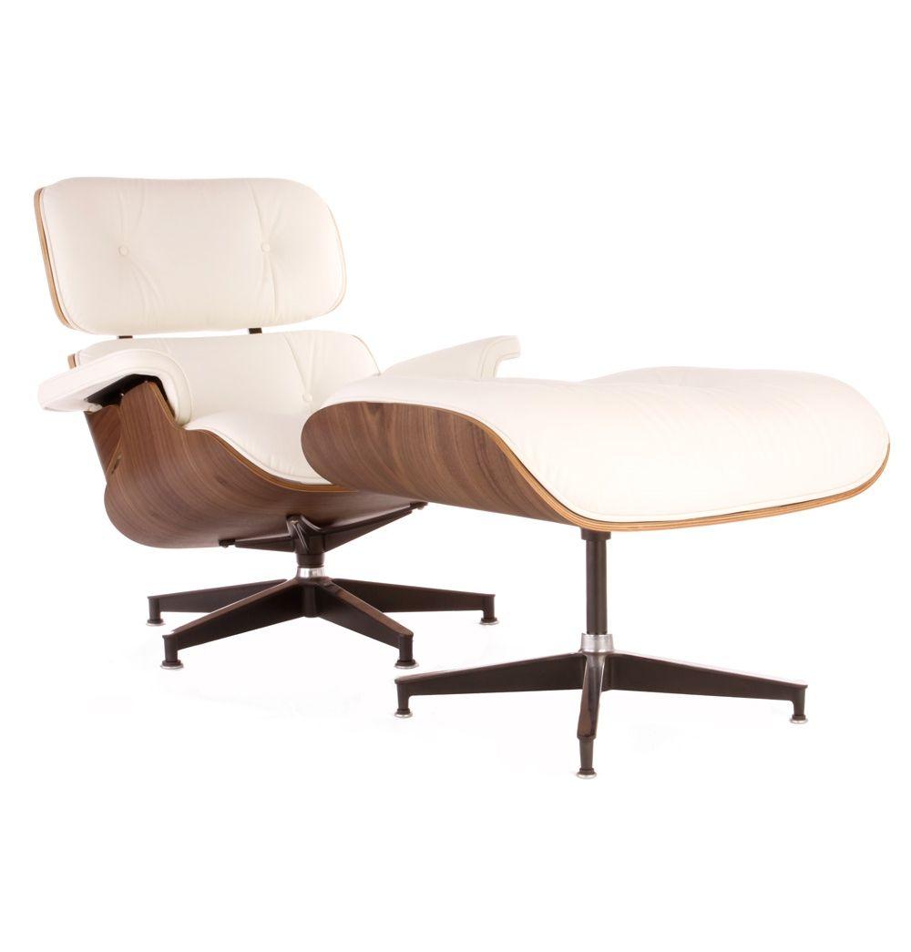 Elegant The Matt Blatt Replica Eames Lounge Chair And Ottoman   Premium Version By  Charles And Ray Eames   Matt Blatt