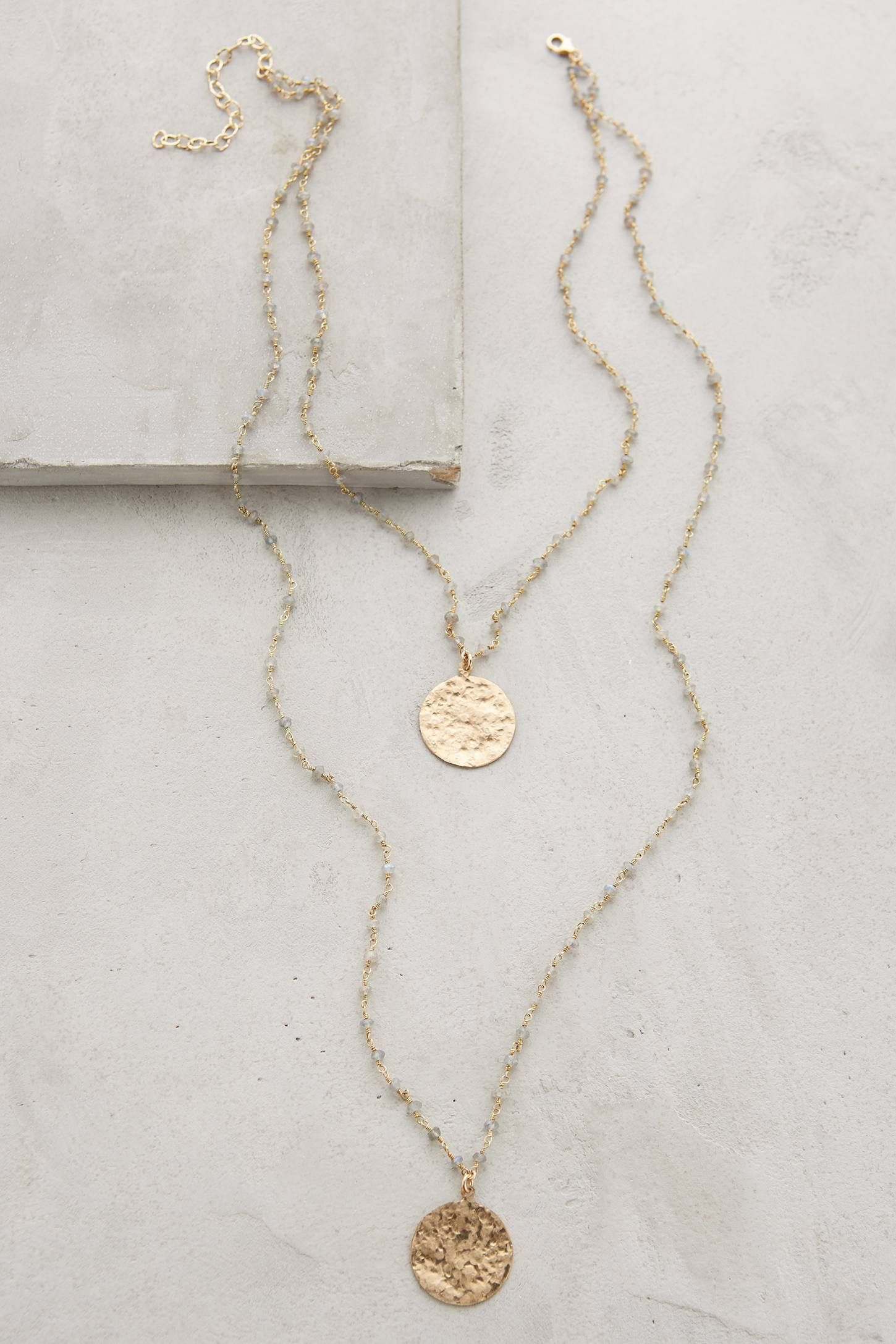 Shop the Oloron Layered Necklace and more Anthropologie at ...