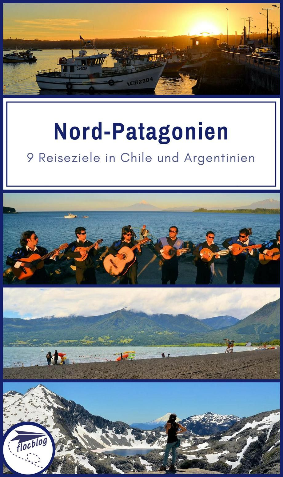 Patagonien Highlights Karte.Nord Patagonien 9 Highlights In Chile Argentinien Karte