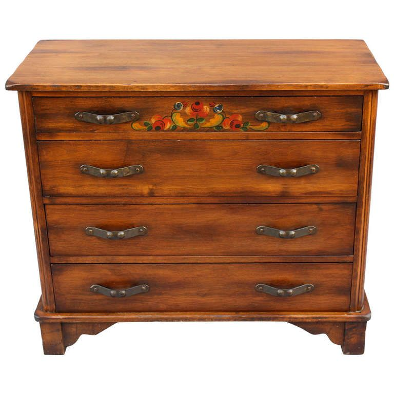 1930s Signed Monterey Dresser By Barker Brothers | From A Unique Collection  Of Antique And Modern