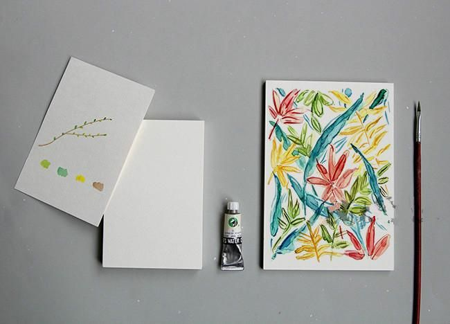 Watercolour Paper Postcards 16 Units The White Pad Watercolor