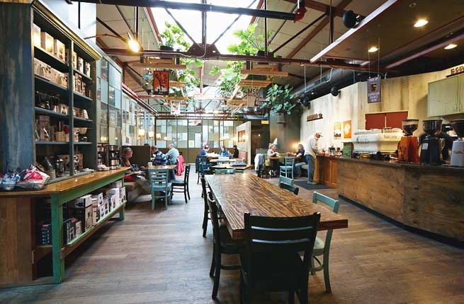 America S 15 Best Indie Coffee Shops Home Coffee Stations Coffee Shop Best Coffee Shop