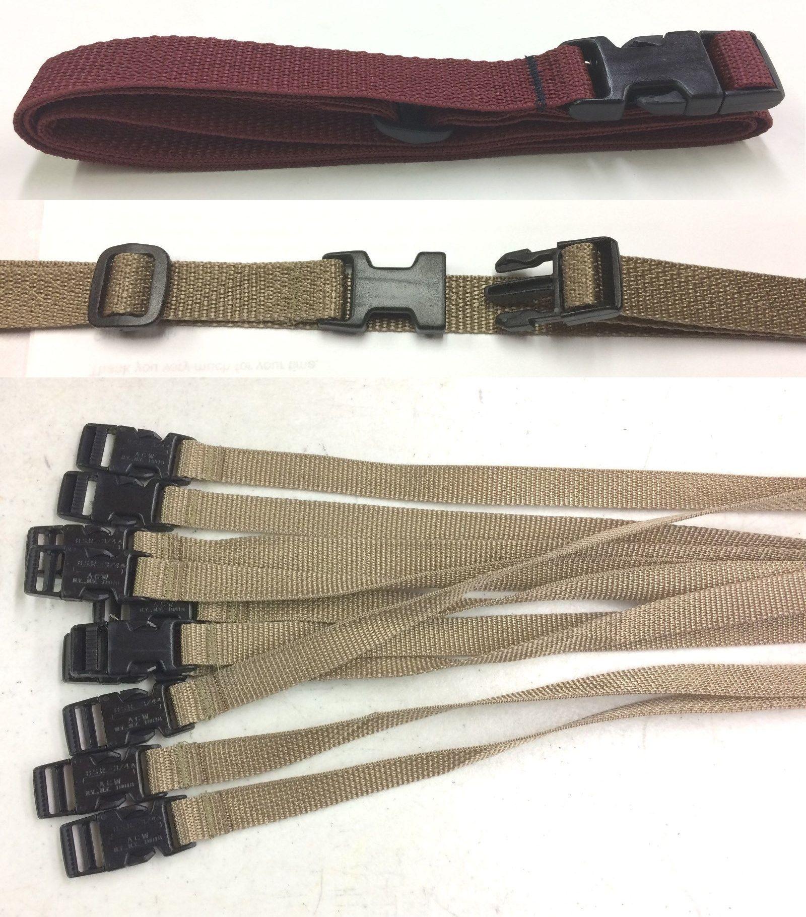 Lash Strap Camping Tie Down Quick Buckle MAROON 8 straps Cargo Lashing Strap