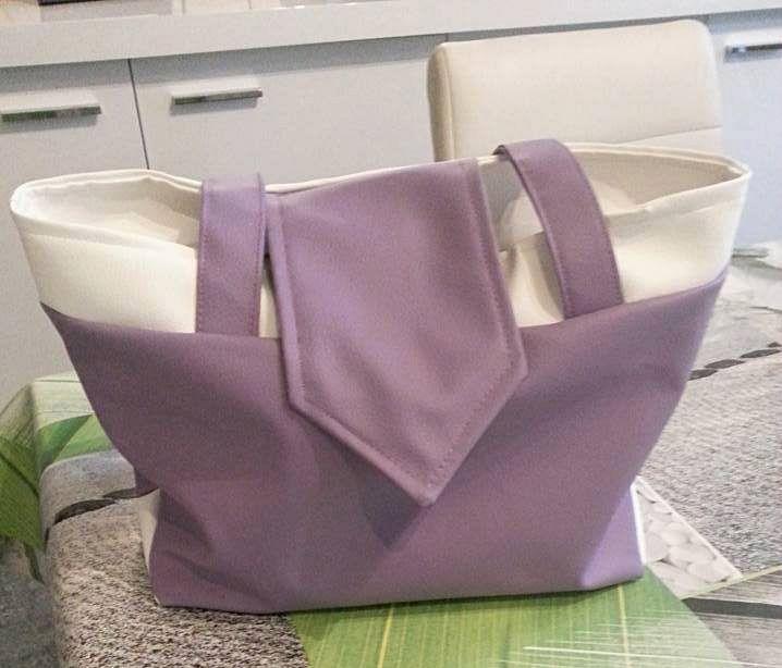 Le sac Madison cousu par Mireille - Patron de couture Sacôtin