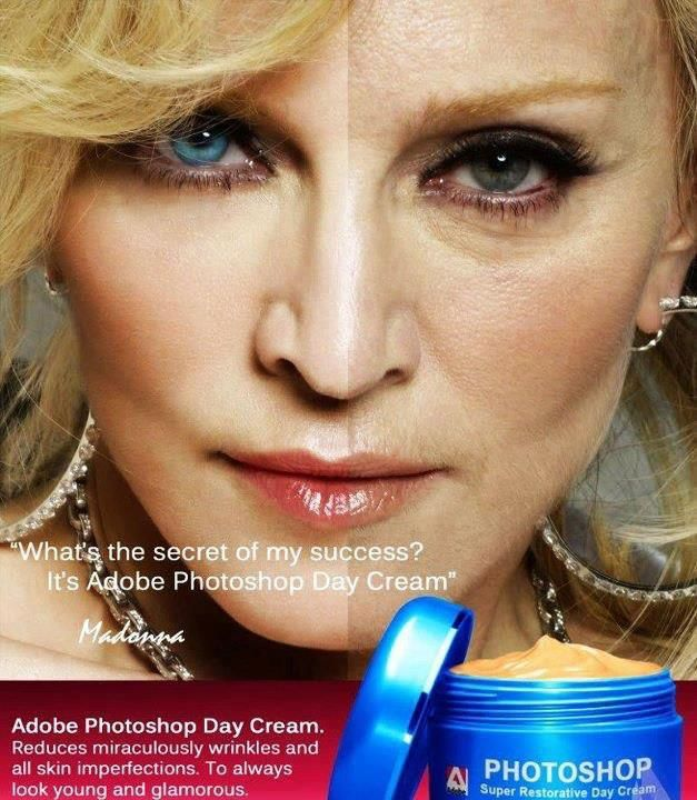 Always look young and glamorous with Adobe Photoshop Cream ...