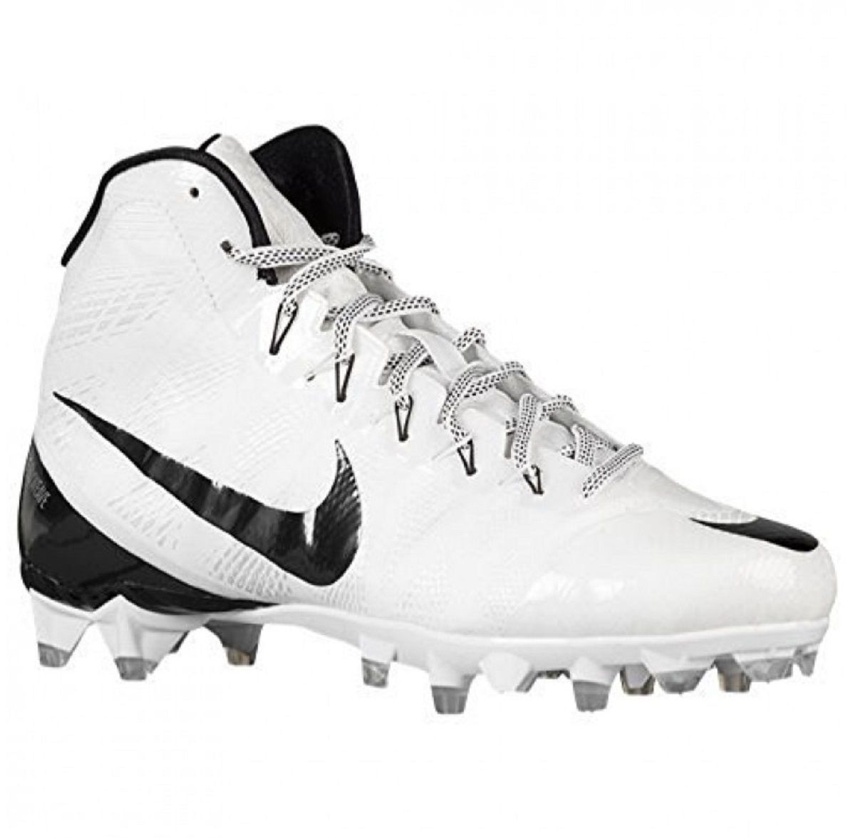 MEN'S NIKE CJ 3 FLYWEAVE ELITE TD FOOTBALL CLEATS WHITE SIZE 9 NEW 725226  100