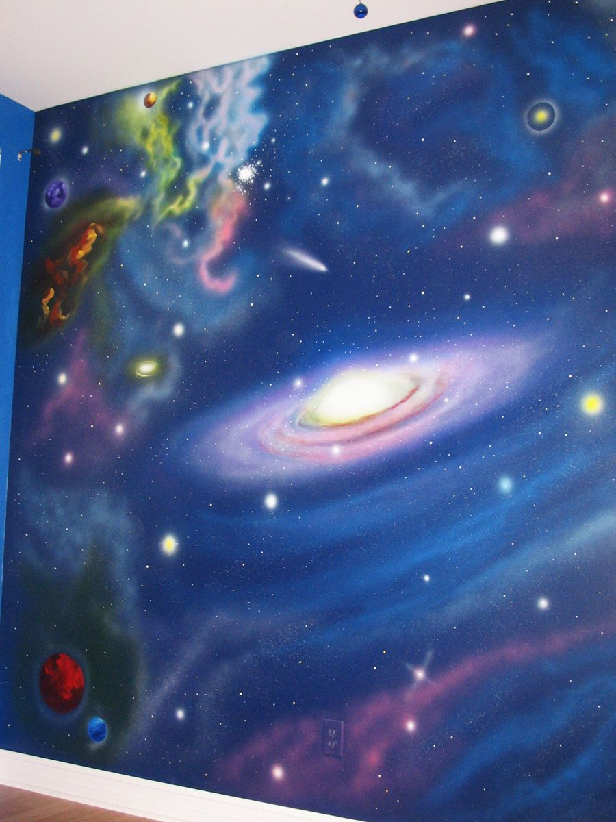 just sold to a cool mom who is designing a space themed bedroom http www muralmagic ca wp content gallery outer space