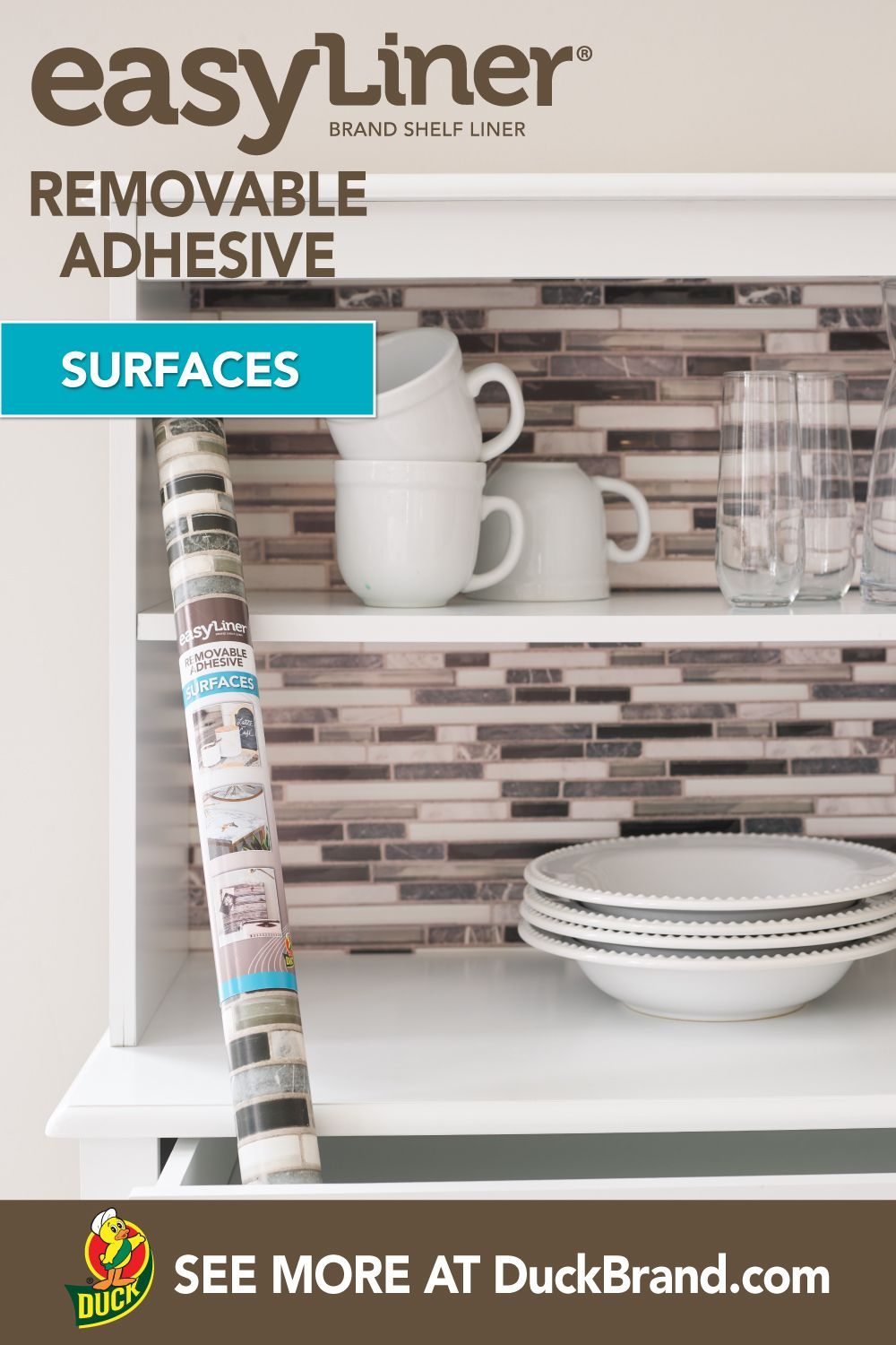 Add Style To Shelves Cabinets And Objects With This Easy To