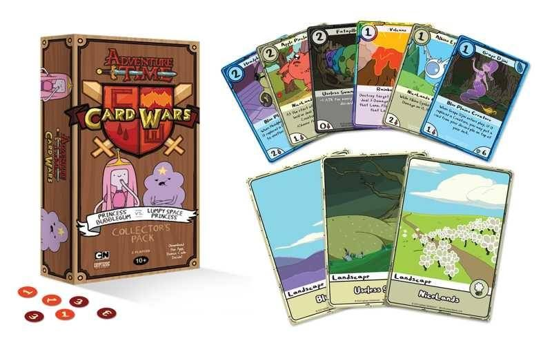 Adventure Time Card Wars CP #3 Princess Bubblegum vs Lumpy Space - time card