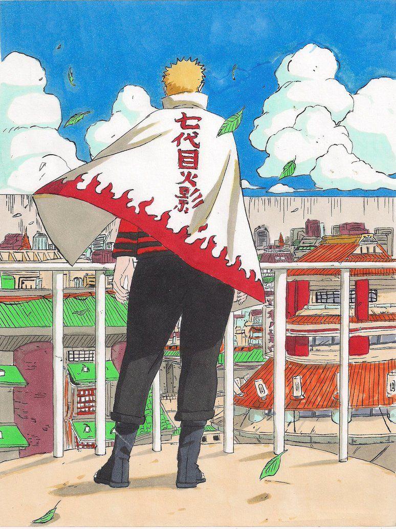 Naruto The 7th Hokage By Hikarumuto Naruto Naruto Uzumaki