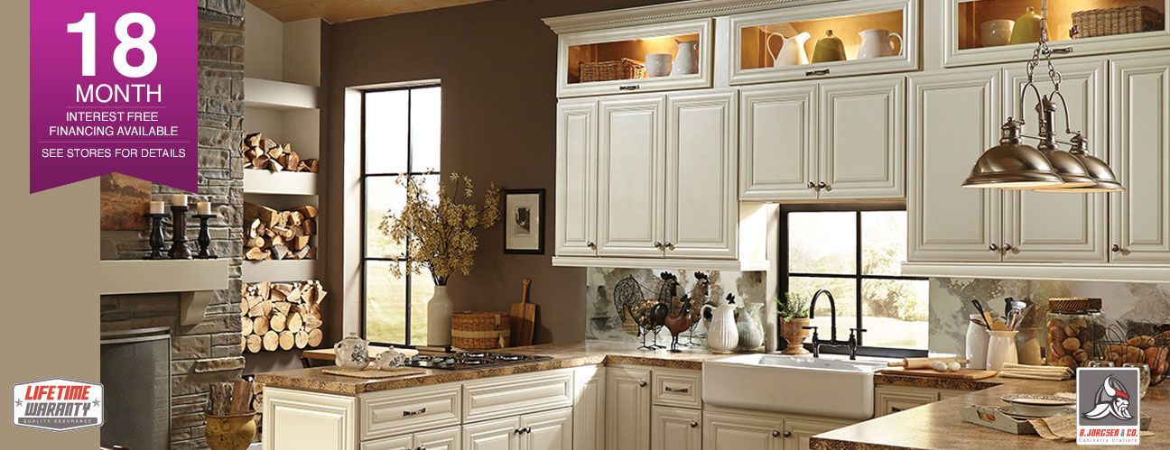Victoria Ivory Raised Panel Cabinet Lux Warm White Cabinets