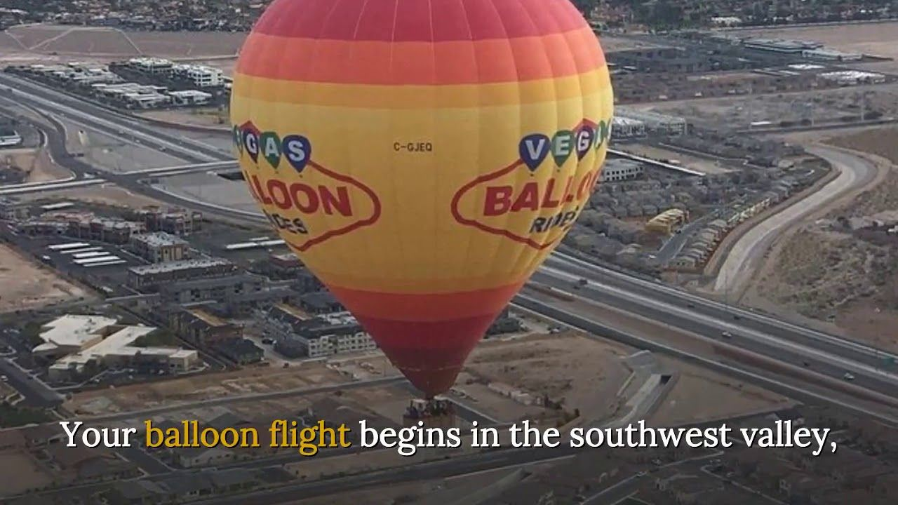 Las Vegas Hot Air Balloon Ride Sunrise HotAir Balloon
