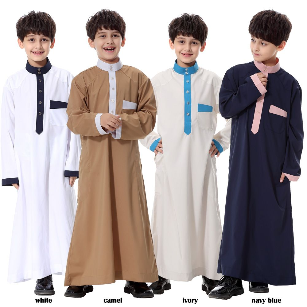 a5bfba825e1e islamic clothing mens Muslim Arab Middle East Teenage Boy Robe clothes