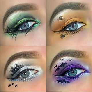 HALLOWEEN EYES ? thought I would try something different today, seen loads of…